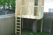 DIY | Tree House / Providing ideas for you to create the perfect Tree House. The one you dreamed about as a kid!