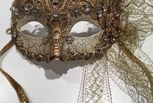 Masks / For New Years, Mardi Gras and Halloween!
