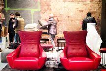 Around chairs