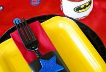 Superhero party ideas / Ideas, inspiration and pictures to create a brill super hero themes party.