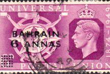 British Bahrain Stamps