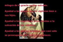 Novenas, Rosarios, Oraciones y artículos religiosos / by D.A