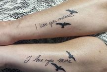 Tattoo mother daughter