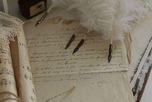Je t'écris une lettre...