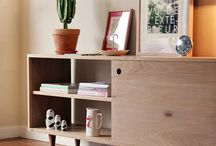 modern, contemporary wooden furniture