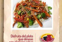 Comida Saludable en El Rancherito