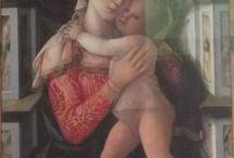 Fra' Filippo Lippi / Madonna col Bambino (metà XV sec.). Firenze, Palazzo Medici-Riccardi