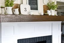 Fireplace / by Brenda Sargent