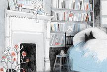 Isabelle Arsenault  - illustrator / by Alessandro Bonaccorsi