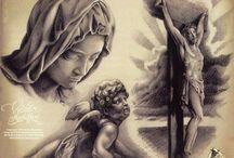 Религиозные тату