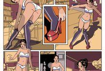 My sissy comics