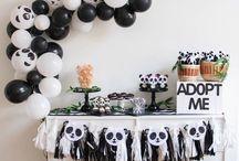 Panda theme party