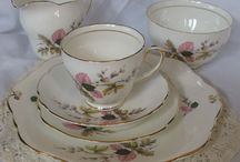 Vintage China / Pretty vintage china for hire from Wilde & Romantic