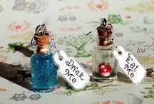 fairy tails / J'aime beaucoup l'univers complètement farfelu et déjanté d'Alice au pays des merveilles....