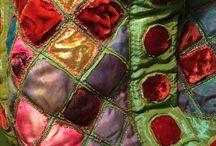 Layered textile cloth
