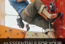 Home rock climbing gym
