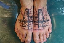 Tattoo ¼ sleeve