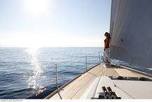 Yacht charter vacation