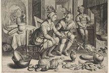 Targ i kuchnia  XVI- XVII wieku