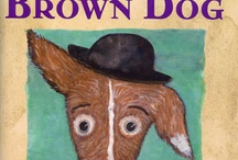 SKINNY BROWN DOG by Kimberly Willis Holt, illustrated by Donald Saaf