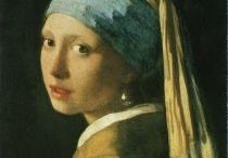 Johannes Vermeer / On this board you will find products of Art Unlimited with work of Johannes Vermeer