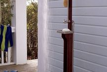 garden: outdoor showers