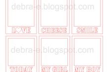 My Silhouette files / Free Silhouette Studio Files