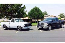 These 1973 & 2014 Ram trucks prove that guts and glory never go out of style. #TBT #GutsGloryRam - photo from ramtrucks