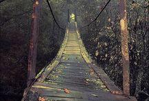 Roads bridges and Paths