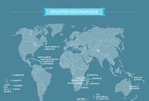 #SauvezOutreMer / Travaux d'élèves / Création d'affiches publicitaires présentant les atouts géographiques des territoires d'Outre-Mer français
