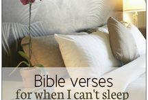 Bible verses for when I can't sleep