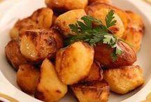 Roasted potatoes Portuguese