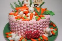králíčci na dortech  ;-)