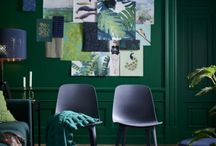 color: new green rooms