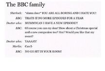 BBC. 3 episodes wasn't enough, Moffat.