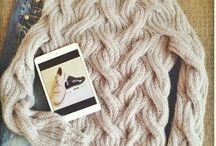 Lovely knitting sweaters