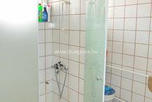 Zuhanyajtó, Shower doors