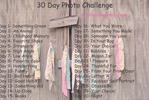 Instagram photo challenges