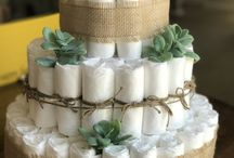 Succulent Baby Shower / Cactus and succulent themed baby shower