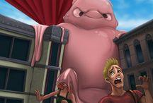 Blob attack