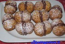 Dolci - dolci senza glutine / Raccolta di dolci senza glutine per persone celiache, dolci con farina di mais, farina di riso, fecola e altri ingredienti senza glutine.