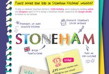 Competition: Stoneham doodle / Inspiration for the Stoneham Doodle competition for schools! Find out more here: http://www.stoneham-kitchens.co.uk/news/stoneham-doodle