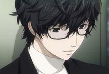 good looking character