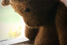 Knitted Toys / Another great gift idea - hand knitted soft toys that will be treasured for generations.