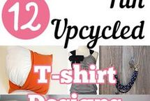 up-cycle T'shirts