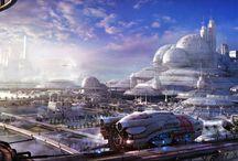 Paysages Science Fiction / SCI FI Landscapes / Paysages Science Fiction / SCI FI Landscapes