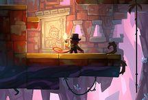 Game - Platformer art