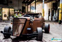 """Funny Car Concept / Ihr sucht einen kleinen Traumwagen um die Welt zu entdecken? Dann seid Ihr bei uns genau richtig!  Das """"Funny-Car-Concept""""-Team fertigt Kleinserien,wie den Pickup im Hot Rod Style."""