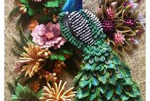 Cards & Crafts: Paper quilling / beautiful crafts incorporating paper quilling.