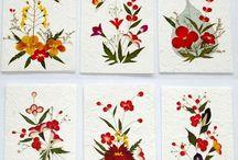dekoracje z suszonych kwiatów